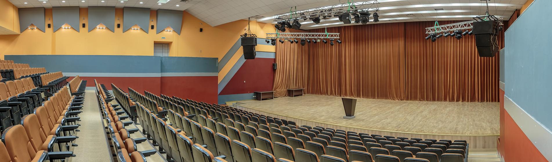 Концертный зал гостиницы ''МОСКОМСПОРТА''